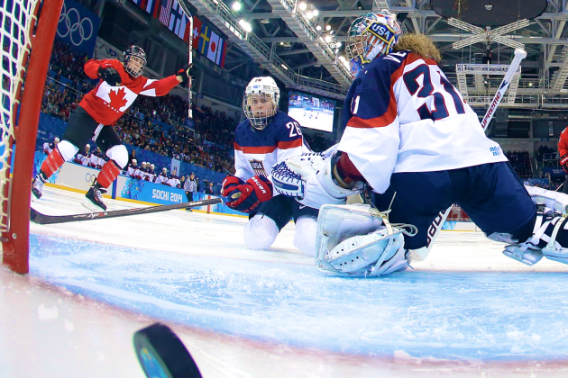 USA vs. Canada Women's Hockey: Score and Recap from 2014 Winter Olympics