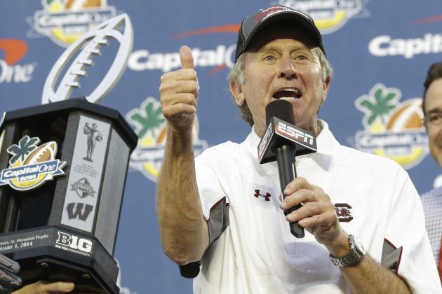 Steve Spurrier Says Big Ten School Negatively Recruited Against South Carolina