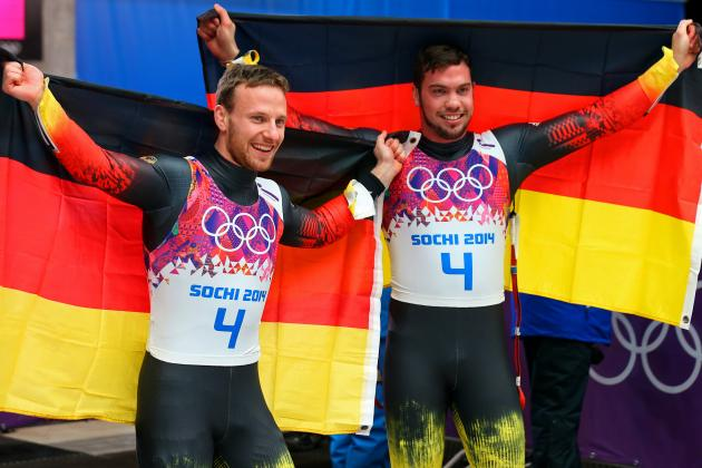 Luge Medal Results and Times from Olympics 2014 Doubles