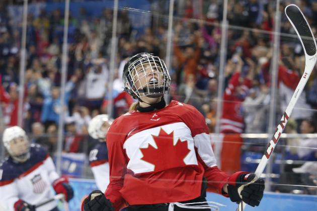 USA vs. Canada Women's Hockey: Rivalry a Highlight of Olympics 2014