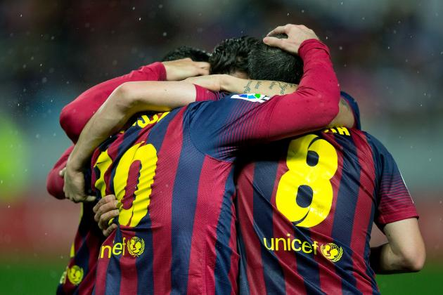 Real Sociedad vs. Barcelona: Live Player Ratings for Barca