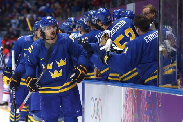 Czech Republic vs. Sweden: Score and Recap from 2014 Winter Olympics