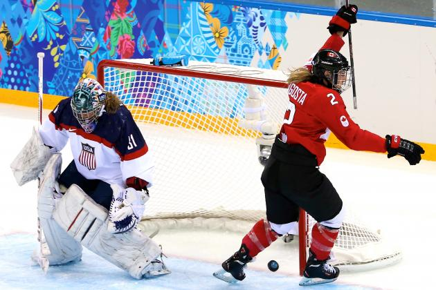 Olympic Women's Hockey 2014: US Loss to Canada in Early Showdown a Bad Sign