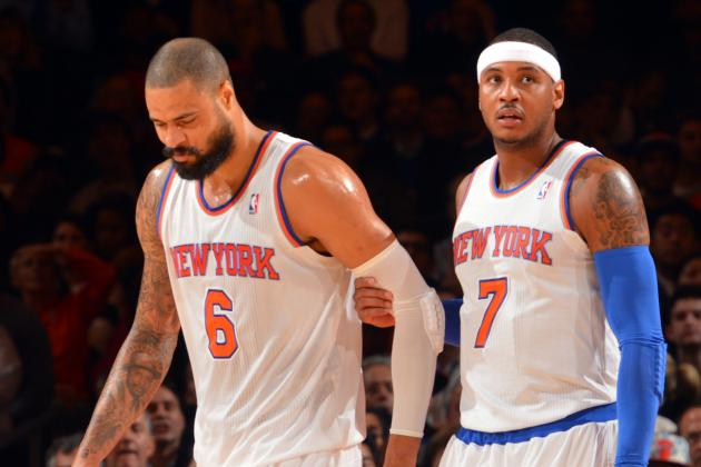 Tyson Chandler, Not Carmelo Anthony, Is NY Knicks' Best Trade Chip