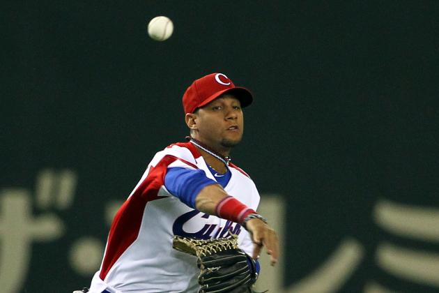Scout on Cuban Shortstop Erisbel Arruebarruena