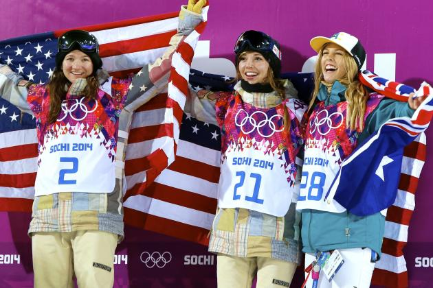 Women's Snowboarding Halfpipe Olympics 2014: Medal Winners and Final Results