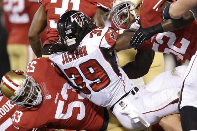 Is the Falcons' Offensive Line Totally to Blame for the Run Game Woes?
