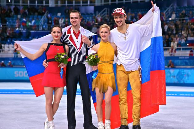 Pairs Figure Skating Results 2014: Pair Skating Free Olympics Medal Winners
