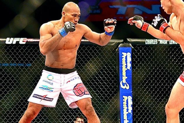 UFC Fight Night 36: Can Jacare Souza Leapfrog Lyoto Machida in MW Arms Race?