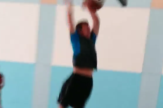 Johnny Manziel and Mike Evans Show off Dunking Skills