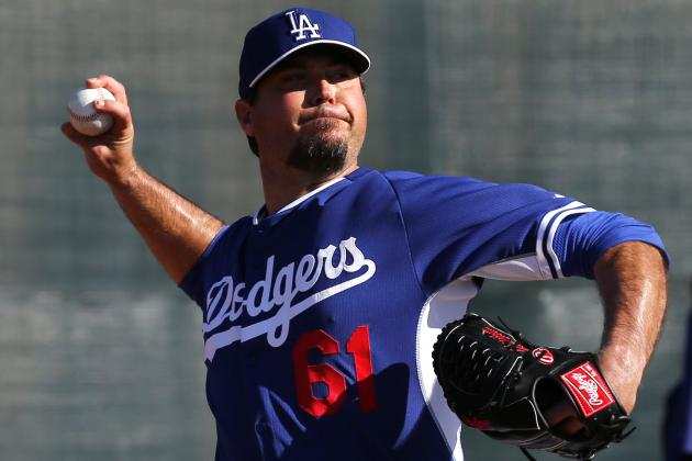 Dodgers' Beckett: I'll Be Ready for Season