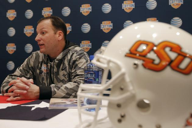 Oklahoma State OC Mike Yurcich Can Take a Big Leap Forward in 2014