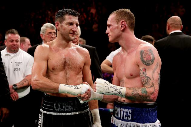 Carl Froch vs. George Groves Rematch Official for May 31