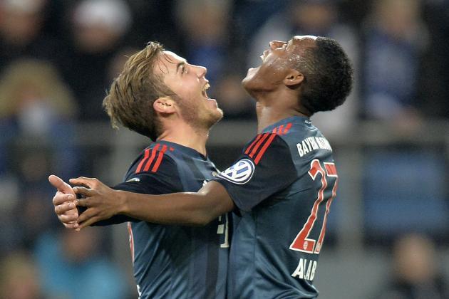 Rampant Bayern Join Dortmund, Wolfsburg, Kaiserslautern  in DFB-Pokal Semifinals