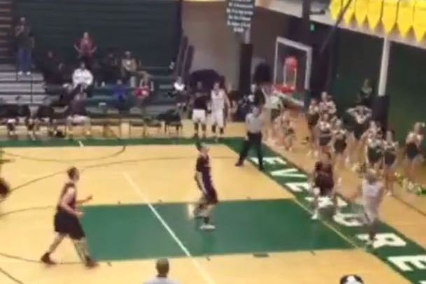 Washington HS Basketball Playoff Game Sent to OT on Unbelievable Buzzer-Beater