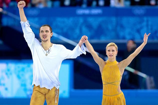 Russian Pair Strikes Figure Skating Gold in Redemption for Nation's 2010 Failure
