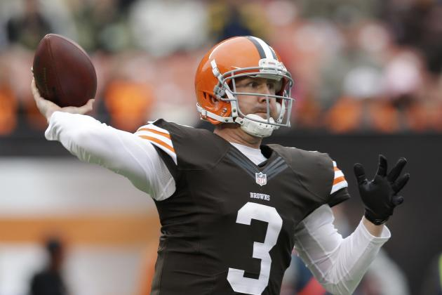 Browns Should Waste No Time Getting Brandon Weeden out of Cleveland