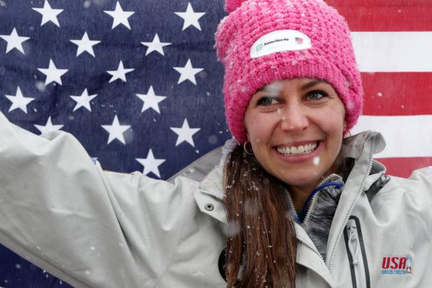 Skeleton Star Noelle Pikus-Pace Aims to Complete Comeback with Gold in Sochi