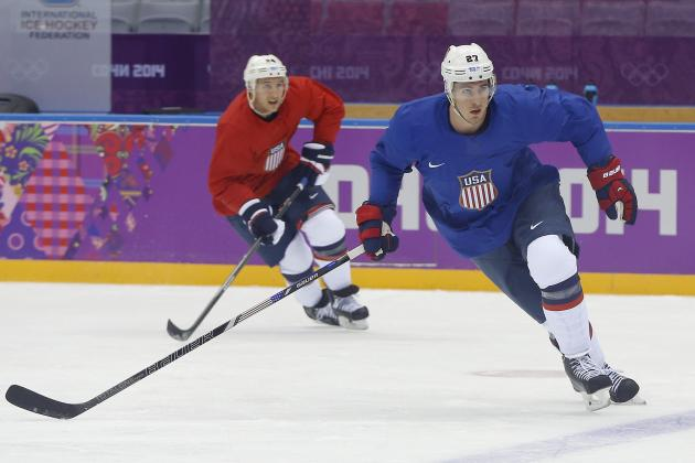 Will 2014 Olympic Hockey Tournament Be Ryan McDonagh's Breakout Performance?