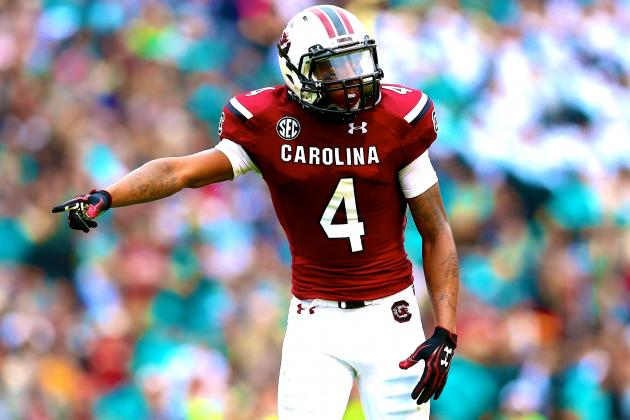 South Carolina WR Shaq Roland Should Live Up to the Hype in 2014