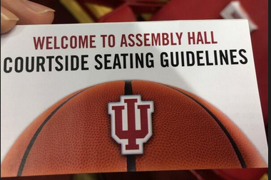 Indiana Takes Proactive Approach to Courtside Fan Behavior