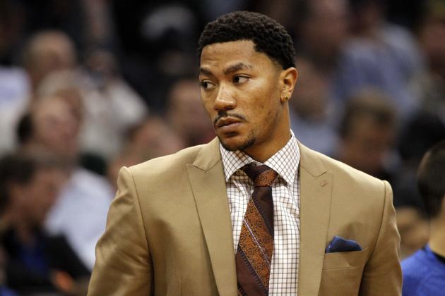 Derrick Rose Is Still Out for the Season, People