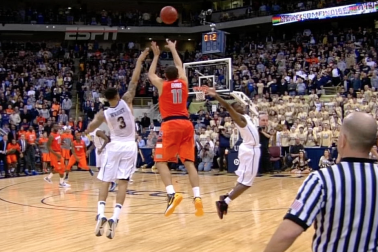 Syracuse's Tyler Ennis Hits Dramatic Buzzer-Beater to Take Down Pitt