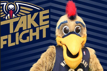 Pelicans Reportedly Making Their Extremely Terrifying Mascot Less Scary