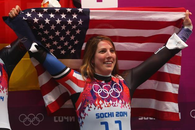 Erin Hamlin Makes History by Earning 1st U.S. Olympic Singles Luge Medal