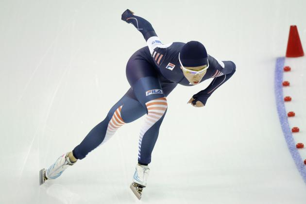 South Korea's Lee Sang-Hwa Sets Olympic Record in Women's 500-Meter Speedskating