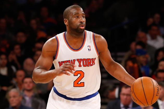 Raymond Felton Yawns in Huddle as NY Knicks Fans Boo During Latest Loss