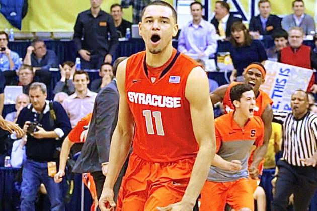 Syracuse, Tyler Ennis Looking Invincible After Thrilling Win over Pittsburgh