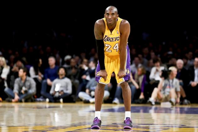 Kobe Bryant's Contract, Injuries Mean LA Lakers Must Wait for Real Rebuild