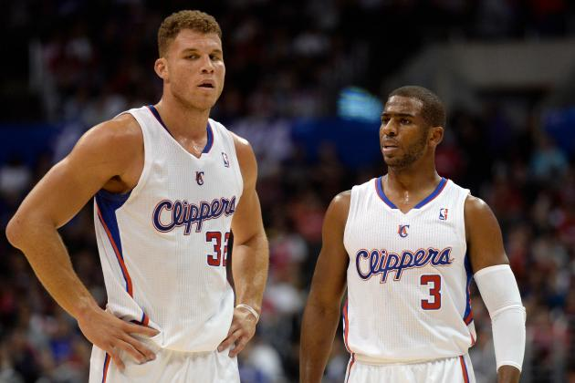 Confident Blake Griffin, Healthy Chris Paul Make Clippers Pretty Darn Imposing
