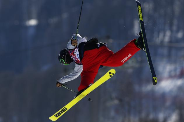 Olympic Freestyle Skiing 2014: Men's Slopestyle Qualifying Results and Scores