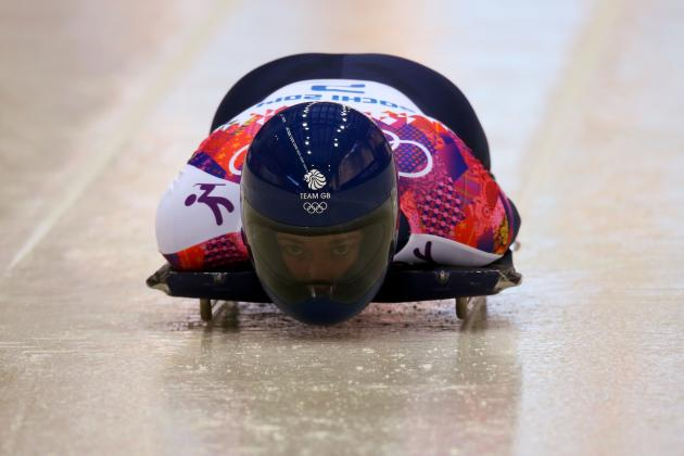 Skeleton Results and Times from Olympics 2014 Women's Singles