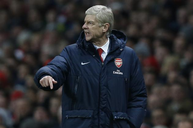 Arsene Wenger Right to Be Nervous After Stalemate vs. Manchester United