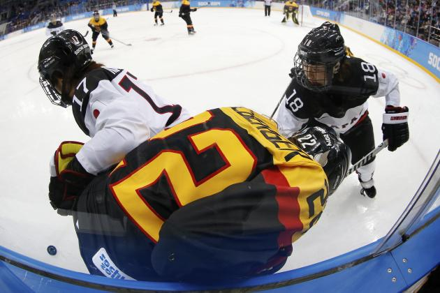Japan vs. Germany Women's Hockey: Score and Recap from 2014 Winter Olympics