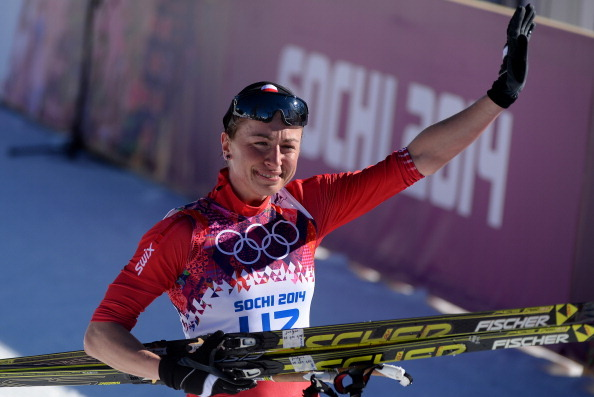 Kowalczyk of Poland Wins Women's 10K Classical-Style Race at Sochi Olympics