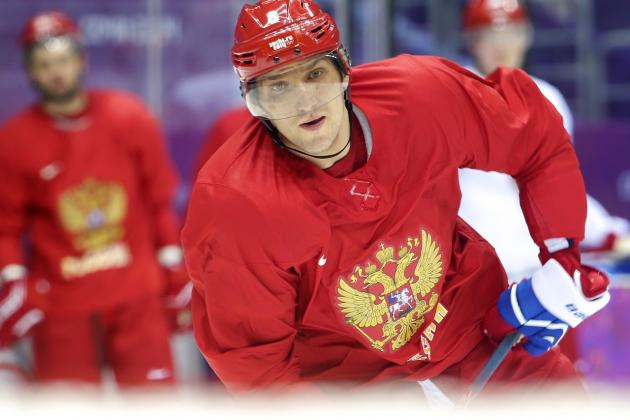 Russia vs. Slovenia Olympic Hockey 2014: Live Score and Analysis