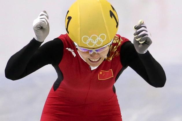 Olympic Short-Track Men's, Women's Speedskating 2014: Live 500m, Relay Results