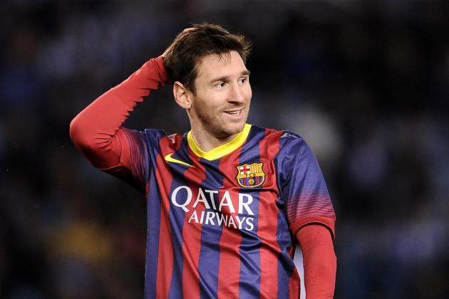 Lionel Messi's Latest Record Should Act as Major Warning to Manchester City