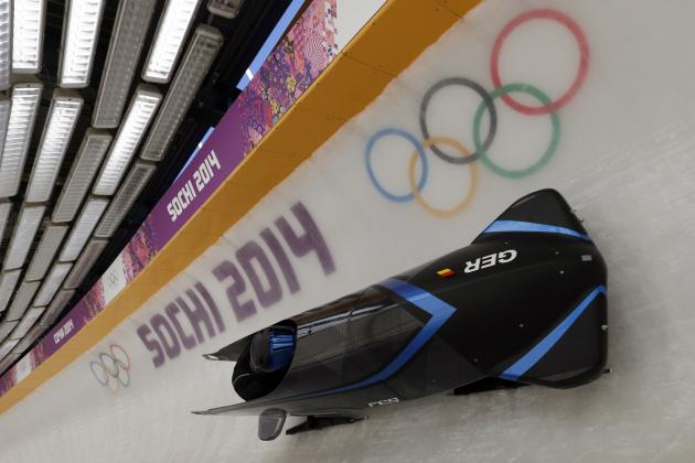 Olympic Track Worker Hospitalized After Being Struck by Bobsled Before Training