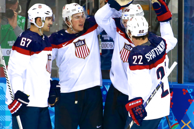 USA vs. Slovakia Olympic Hockey 2014: Live Score, Highlights and Reaction