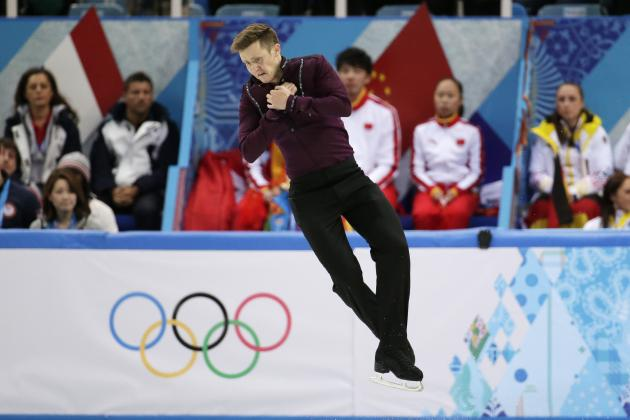 Jeremy Abbott Fails to Medal in Men's Figure Skating Individual Competition