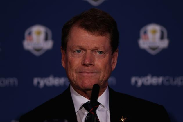 Tom Watson Goes 'Old School' for 2014 U.S. Ryder Cup Team