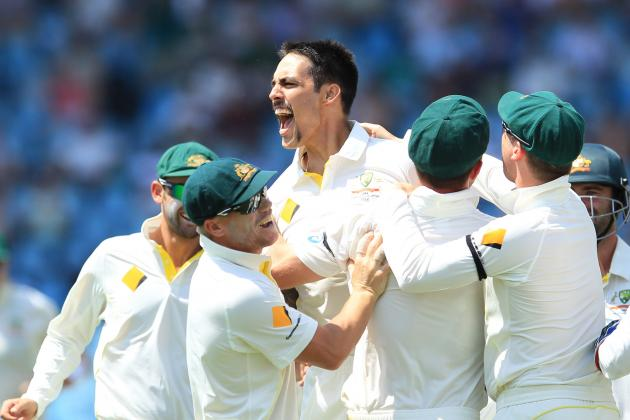 South Africa vs. Australia, 1st Test: Day 2 Video Highlights, Scorecard, Report