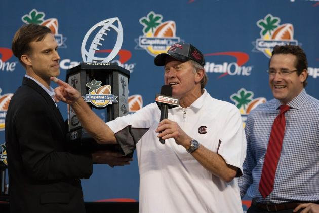 South Carolina Football: Is Steve Spurrier Jr. the Head Ball Coach's Heir?