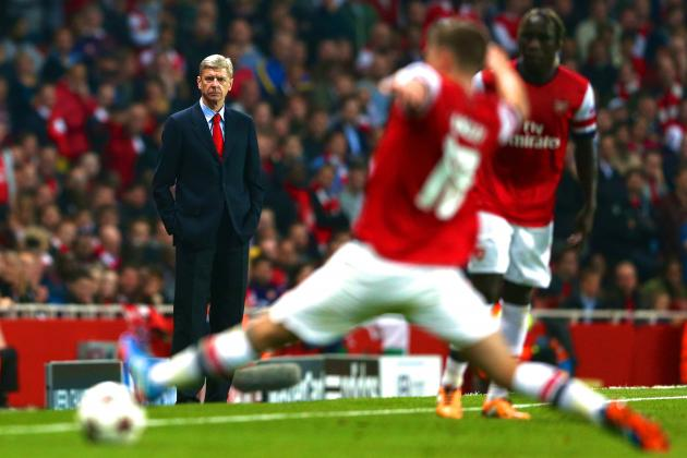 Exhausted Arsenal a Reflection of Arsene Wenger, in Danger of Bayern Battering