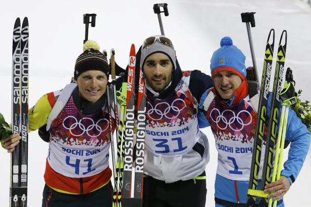 Biathlon Medal Results and Times from Olympic 2014 Men's 20km Individual